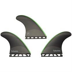 Futures JJF-2 Medium Techflex Tri Fin Set
