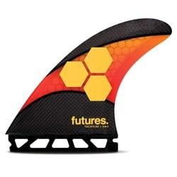 Futures AM2 Large Techflex Tri Fin Set
