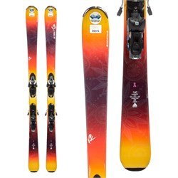 K2 LUV Machine 74 Ti Skis ​+ Salomon Z10 Demo Bindings - Women's  - Used