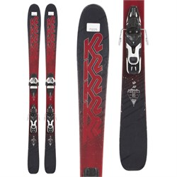 K2 Pinnacle 85 Skis ​+ Atomic Warden 11 Demo Bindings  - Used
