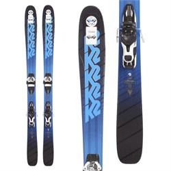 K2 Pinnacle 88 Skis + Atomic Warden 11 Demo Bindings  - Used