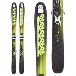 K2 Pinnacle 95 Skis + Atomic Warden 11 Demo Bindings  - Used