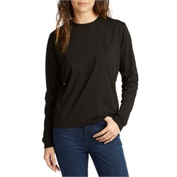 Richer Poorer Long-Sleeve Crew Pocket T-Shirt - Women's