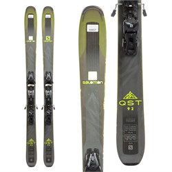 Salomon QST 92 Skis + Salomon Z12 Speed Bindings 2018 - Used