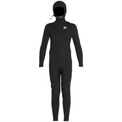 Billabong 5/4 Furnace Absolute Hooded Chest Zip Wetsuit - Boys'
