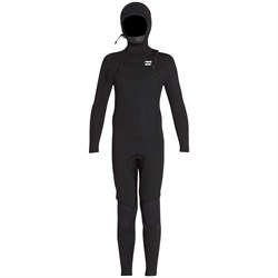 Billabong 5​/4 Furnace Absolute Hooded Chest Zip Wetsuit - Boys'
