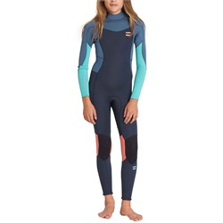 Billabong 3​/2 Furnace Synergy Back Zip Wetsuit - Girls'