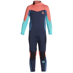 Billabong 3​/2 Furnace Synergy Back Zip Wetsuit - Little Girls'