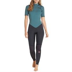 Billabong 2mm Furnace Synergy Chest Zip Short Sleeve Fullsuit - Women's