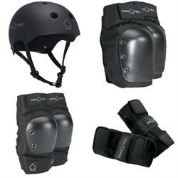 Pro-Tec The Classic Certified EPS Helmet + Pro-Tec Street Knee Pads + Pro-Tec Street Elbow Pads + Pro-Tec Street Wrist Pads