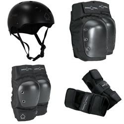 Pro-Tec Classic Skate Helmet + Pro-Tec Street Knee Pads + Pro-Tec Street Elbow Pads + Pro-Tec Street Wrist Pads