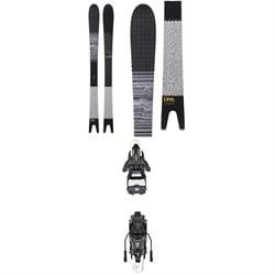 Line Skis Sakana Skis + Atomic Shift MNC 13 Alpine Touring Ski Bindings 2019