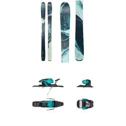 Line Skis Pandora 94 Skis - Women's + Salomon Warden 11 Ski Bindings