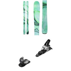 Line Skis Pandora 84 Skis - Women's ​+ Salomon Warden MNC 11 Ski Bindings 2019