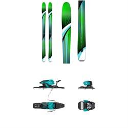 K2 Fulluvit 95 Ti Skis - Women's + Salomon Warden 11 Ski Bindings