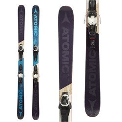 Atomic Punx 7 Skis ​+ Lithium 10 Bindings  - Used