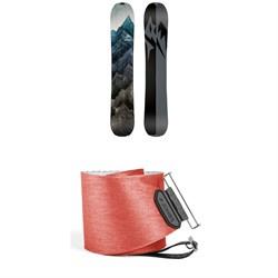 Jones Solution Splitboard 2019 + Jones Nomad Quick Tension Tail Clip Splitboard Skins