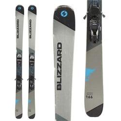 Blizzard Brahma CA Skis + Marker TCX 11 Bindings  - Used