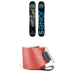2640ed74cef Jones Explorer Splitboard 2019 + Jones Nomad Quick Tension Tail Clip  Splitboard Skins