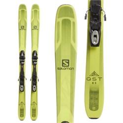 Salomon QST 85 Skis + Tyrolia SP 10 Bindings  - Used