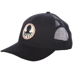 Mollusk Octopus Patch Hat