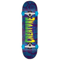 Creature Faces SM 7.5 Skateboard Complete