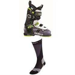 Dalbello Krypton AX 120 Ski Boots + Dissent Ski GFX Compression Hybrid Protect Socks