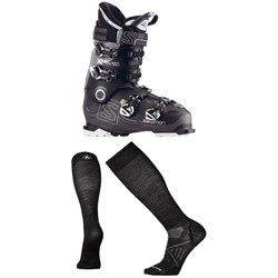 Salomon X Pro 100 Ski Boots 2017 ​+ Smartwool PhD Ski Ultra Light Socks