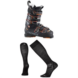 Tecnica Mach1 110 MV Ski Boots ​+ Smartwool PhD Ski Ultra Light Socks
