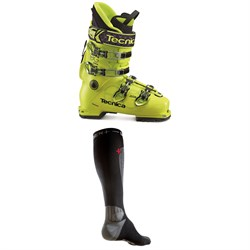 Tecnica Zero G Guide Pro Ski Boots ​+ Dissent Ski Pro Fit Compression Thin Nano Tour Socks