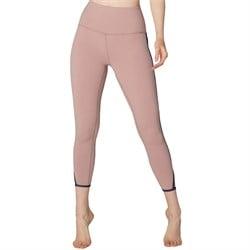 Beyond Yoga Slip Open High Waisted Capri Leggings - Women's
