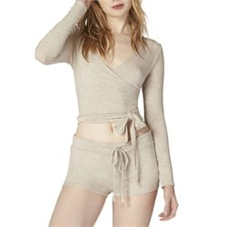 Beyond Yoga All Around Wrapped Cropped Top - Women's