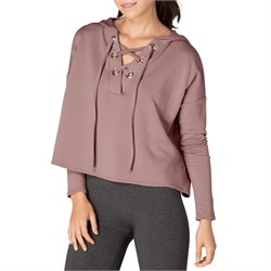Beyond Yoga Over Tied Cropped Pullover Hoodie - Women's