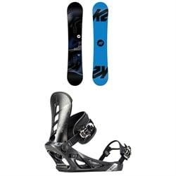 K2 Standard Snowboard + K2 Sonic Snowboard Bindings 2019