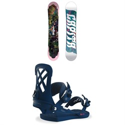CAPiTA Paradise Snowboard  + Union Milan Snowboard Bindings - Women's 2019