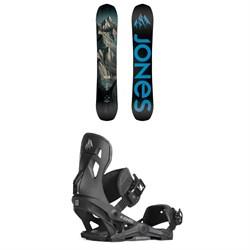 Jones Explorer Snowboard + Jones Mercury Snowboard Bindings 2019