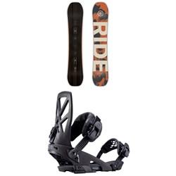 Ride Berzerker Snowboard + Ride Capo Snowboard Bindings