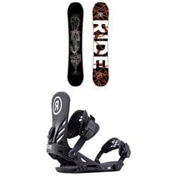 Ride Wildlife Snowboard + Ride EX Snowboard Bindings