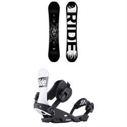 Ride Machete Snowboard + Ride Rodeo Snowboard Bindings