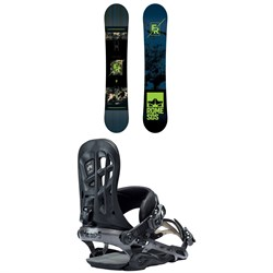 Rome Factory Rocker Snowboard ​+ Rome 390 Boss Snowboard Bindings