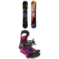 Lib Tech TRS HP C2X Narrow Snowboard ​+ Bent Metal Upshot Snowboard Bindings 2019