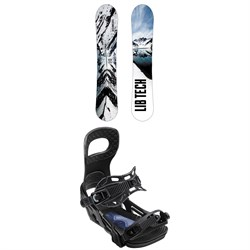 Lib Tech Cold Brew C2 Snowboard ​+ Bent Metal Joint Snowboard Bindings 2019