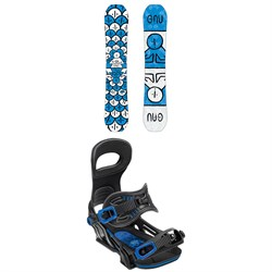 GNU FB Head Space Asym C3 Snowboard ​+ Bent Metal Transfer Snowboard Bindings
