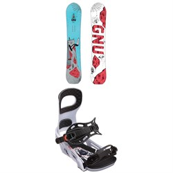 GNU Money C2E Snowboard ​+ Bent Metal Joint Snowboard Bindings
