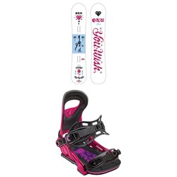 GNU Gloss C2E Snowboard - Women s + Bent Metal Upshot Snowboard Bindings -  Women s 2019  589.90  534.97 Sale d919b9a27b0