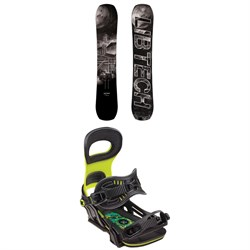 Lib Tech Box Knife C3 Snowboard ​+ Bent Metal Transfer Snowboard Bindings