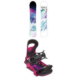 GNU Chromatic BTX Snowboard - Women's + Bent Metal Upshot Snowboard Bindings - Women's 2019