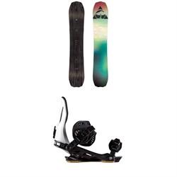Arbor Bryan Iguchi Pro Camber Snowboard + Arbor Cypress Snowboard Bindings 2019