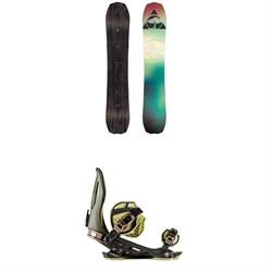 Arbor Bryan Iguchi Pro Camber Snowboard + Arbor Cypress Snowboard Bindings