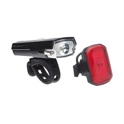 Blackburn Dayblazer 400 Front ​+ Click USB Rear Bike Light Set